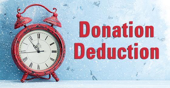 donation deduction